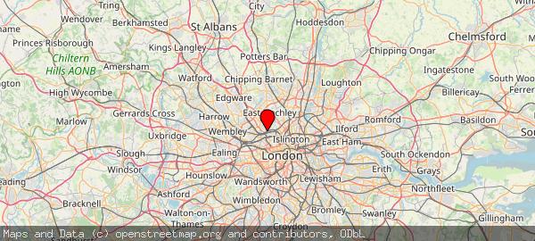 Hampstead Town ward London NW3