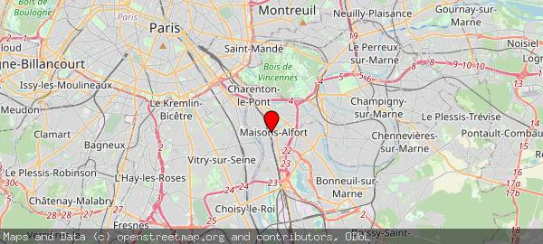 118 Avenue du Général de Gaulle, 94700 Maisons-Alfort, France