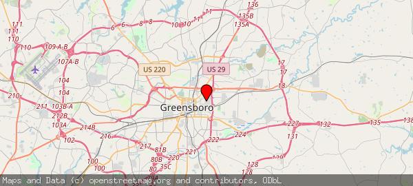 1601 E Market St, Greensboro, NC 27401, USA