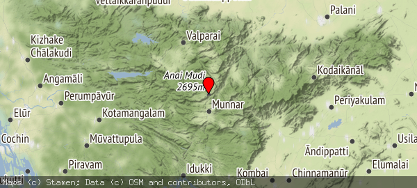 Western Ghats, Kannan Devan Hills, Kerala 685561