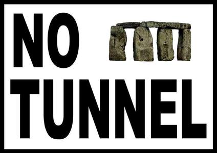 No to ANY  type of tunnel at Stonehenge