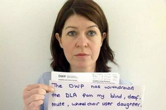To the DWP. Please reinstate Ava Jolliffe's DLA Carers Benefit