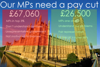 Pay MPs the average salary