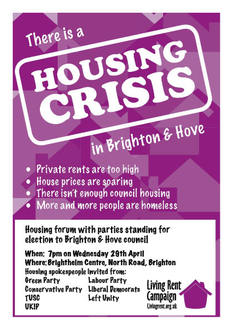 A call for fair private rents, new social housing and secure tenancies
