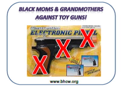 Black Moms and Grandmothers Against Toy Guns