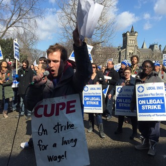 University of Toronto: Bring Student Workers Above the Poverty Line