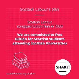 UK Labour to Adopt Scottish Labour Free tuition Vow