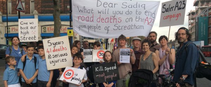 Safer A23 in Streatham Campaign