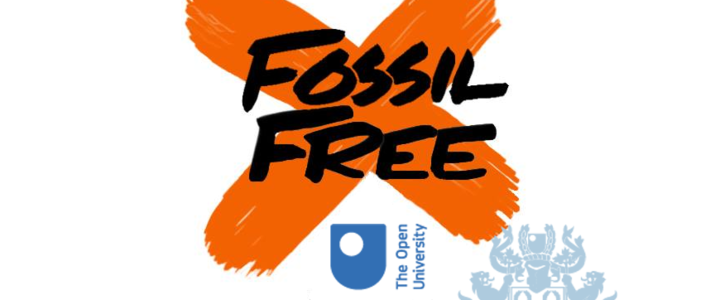 Divest The Open University from fossil fuels