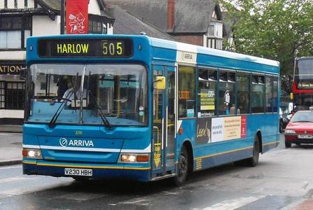 Save the 505 Chingford to Harlow bus service