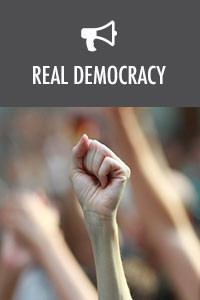 Real democracy 200x300