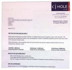 Stop CJ Hole exploiting the housing crisis in Bristol
