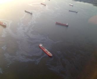 No more spills. Protect Vancouver from oil spills
