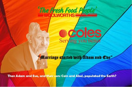 Coles and Woolworths, please support marriage equality and stop kowtowing the SDA