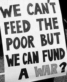 No money for war