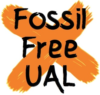 UNIVERSITY OF THE ARTS: GO FOSSIL FREE!