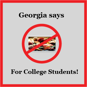 Make Georgia College Students Eligible For Food Stamps