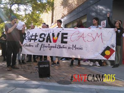 SAVE CASM -The Centre for Aboriginal Studies in Music
