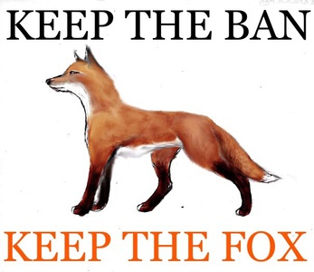 Call to Scottish MPs to vote against the repeal of the Hunting Act 2004