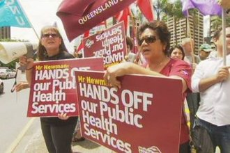 Newman Government slashing front line sexual health services in Queensland.