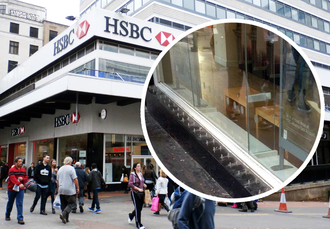 Remove Anti-Homeless Spikes from HSBC Birmingham