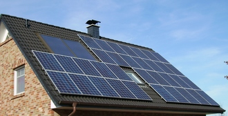 solar panels on every roof for council housing