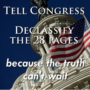Tell Congress – End Secrecy on 9/11, Declassify the 28 Pages