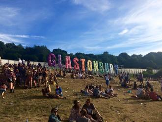Meat-free Glastonbury Festival