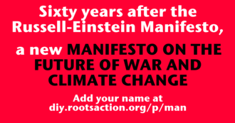 MANIFESTO ON THE FUTURE OF WAR AND CLIMATE CHANGE