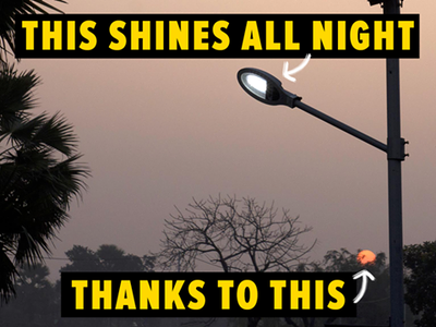 Switch on the sun in Thane and power our street lights with solar energy