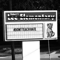 Take Robert E. Lee's name off our our schools!