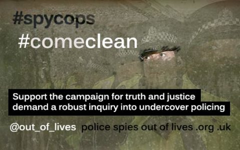 COME CLEAN ON UNDERCOVER POLICING