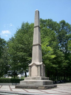 Remove the confedrate monument in Birmingham,Al at Linn Park