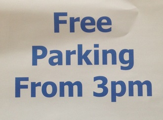 Free parking after 3pm on Wirral Car Parking & Reduced tunnel charges