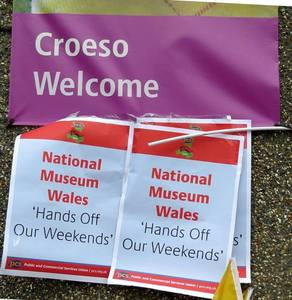 Fair pay at National Museums Wales