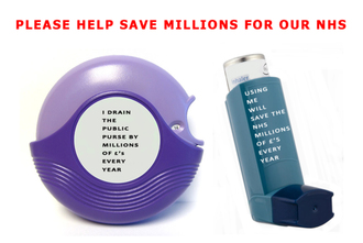 Get parliament to legislate to reintroduce reusable asthma inhalers