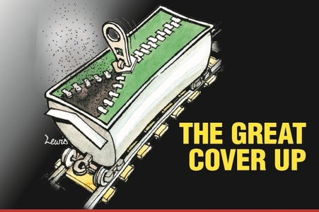 The Herald Great Cover Up campaign