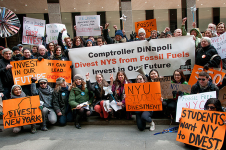Pass the NYS Fossil Fuel Divestment Act