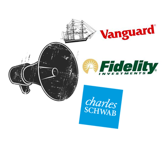 VANGUARD, FIDELITY, SCHWAB: WE WANT FOSSIL-FREE MUTUAL FUNDS.