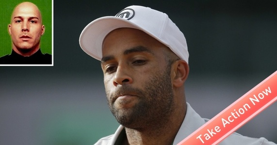 Fire Officer Frascatore -- history of excessive force, then attacks tennis star James Blake