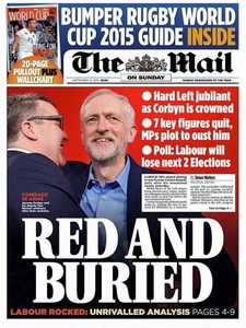 STOP THE BRITISH MEDIA'S SMEAR CAMPAIGN ON JEREMY CORBYN