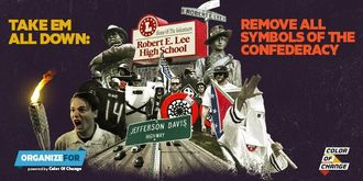 Take Down ALL Symbols of White Supremacy in New Orleans