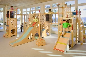 Indoor Community Play Area for BHAR Residents