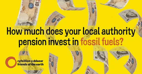 DIVEST CARDIFF AND VALE OF GLAMORGAN PENSION FUND FROM FOSSIL FUEL INVESTMENTS