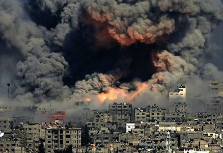 Do not supply destructive and brutal murderous weapons for free to Israel