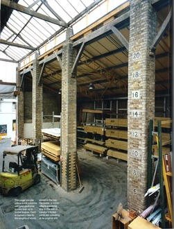 Duke of Westminster's destruction of a historic timber yard in London
