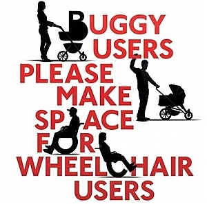 Wheelchair Users V Pushchairs & Buggies on buses