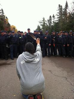 Tell the RCMP: Don't violently intervene in peaceful First Nations protests