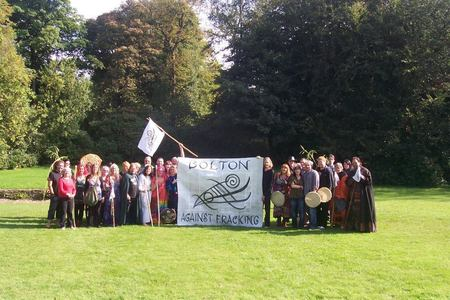 STOP ALL FRACKING IN THE NORTH OF ENGLAND