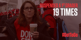 TELL THE U.S. DEPARTMENT OF EDUCATION TO STOP FUNDING THE KINDERGARTEN TO PRISON PIPELINE